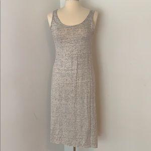 Calypso st Barth linen stretch midi dress